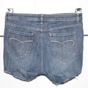 Chico's womens cut off shorts size 2 -2723-